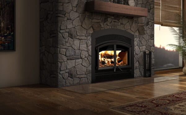 Valcourt waterloo fp15a wood fireplace | safehome fireplace | london & strathroy