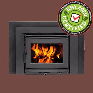 Neo 25 insert epa image on safe home fireplace website