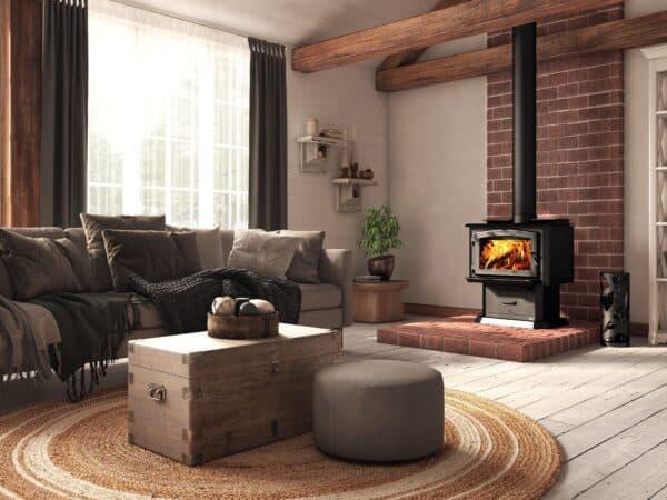 Osburn 1700 wood stove | safehome fireplace | london & strathroy