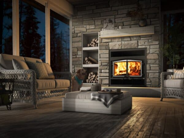 Osburn stratford ii wood fireplace | safehome fireplace | london & strathroy