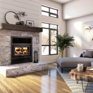 Osburn everest ii wood fireplace | safehome fireplace | london & strathroy