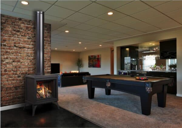 Marquis titan freestanding gas stove | safe home fireplace in london & strathroy