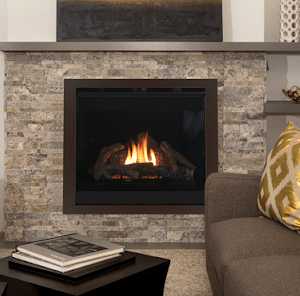 "Astria Gemini 45"" direct vent fireplace 