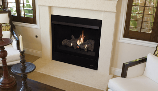 "Aries 33"" gas fireplace 