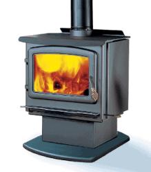 Enviro Kodiak 1700 Flat Top wood stove | safehome fireplace | London & Strathroy