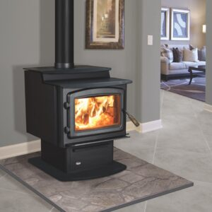 Enviro Kodiak 1200 Step Top Wood Stove | Safe Home Fireplace in London & Strathroy Ontario