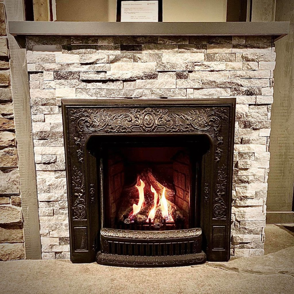 Fireplace service and repairs image on safe home fireplace website