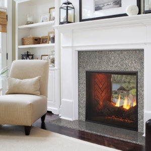 Majestic Fortress See Through Gas Fireplace | Safe Home Fireplace in London & Strathroy Ontario