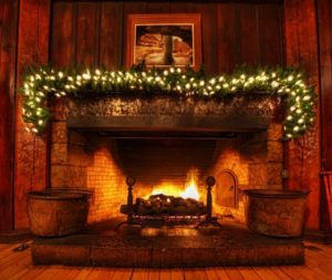 Safe home fireplace - indoor fireplace - body image - centerpiece