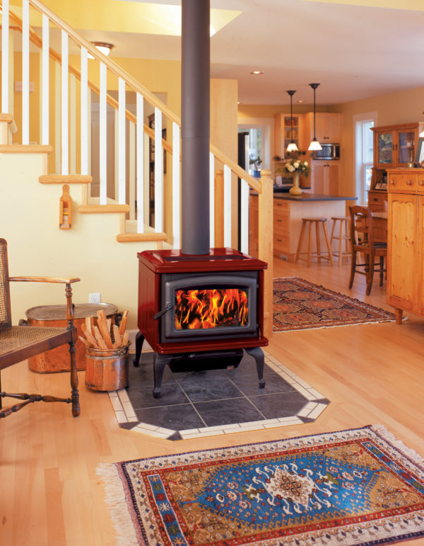 Pacific energy summit classic le wood stove | safe home fireplace in london & strathroy ontario