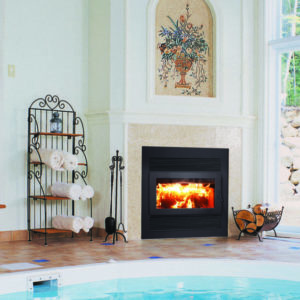 Rsf focus 320 wood fireplace | safe home fireplace in london & strathroy on