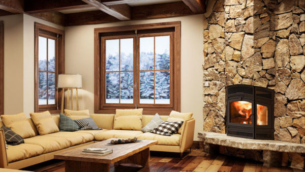 Rsf delta fusion wood burning fireplace | safe home fireplace in london & strathroy ontario