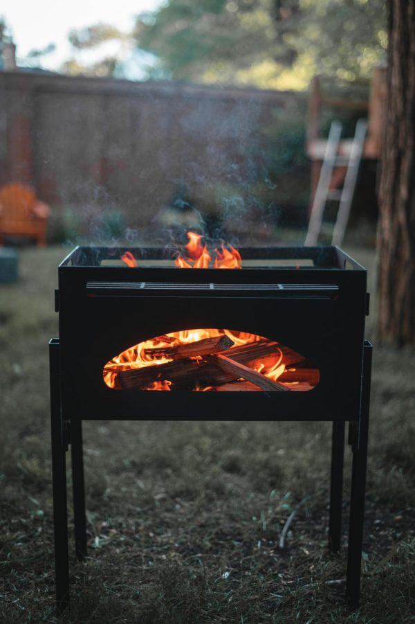 Black earth roam - wood burning firepit | safe home fireplace in strathroy & london on