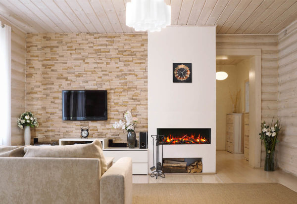 Amantii 50-tru-view slim electric fireplace | safe home fireplace in london and strathroy ontario