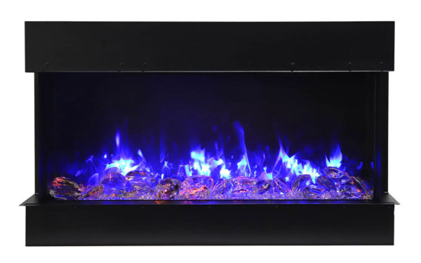 """Amantii 60"""" tru-view slim electric fireplace 