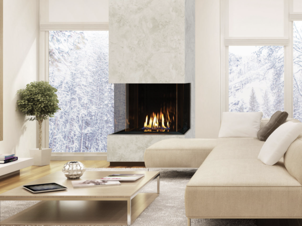 Urbana u30 tall gas fireplace | safe home fireplace in london & strathroy ontario