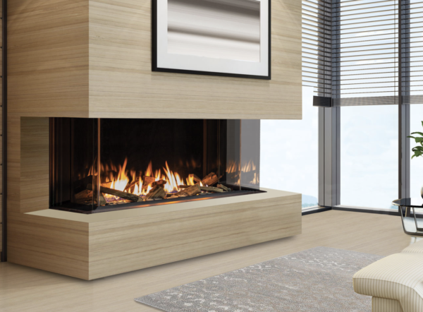 Urbana u50 tall gas fireplace | safe home fireplace in strathroy and london ontario