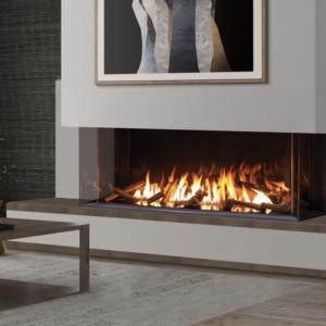 Urbana u70 tall gas fireplace | safe home fireplace in london & strathroy ontario